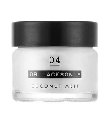 The Multi-tasker: Dr Jackson's 04 Coconut Melt   Best for: Natural nourishment  Created as an 'everything balm', Dr Jackson's 04 COCONUT MELT champions just one ingredient - 100% organic coconut oil. The pot promises to naturally nourish everything from lips and cuticles to hair ends