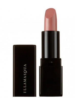 Illamasqua.  Glamore in neutral pink is as au naturel as it gets. The long lasting stain finish and rich formula provides hydration while the colour itself suits every skin tone