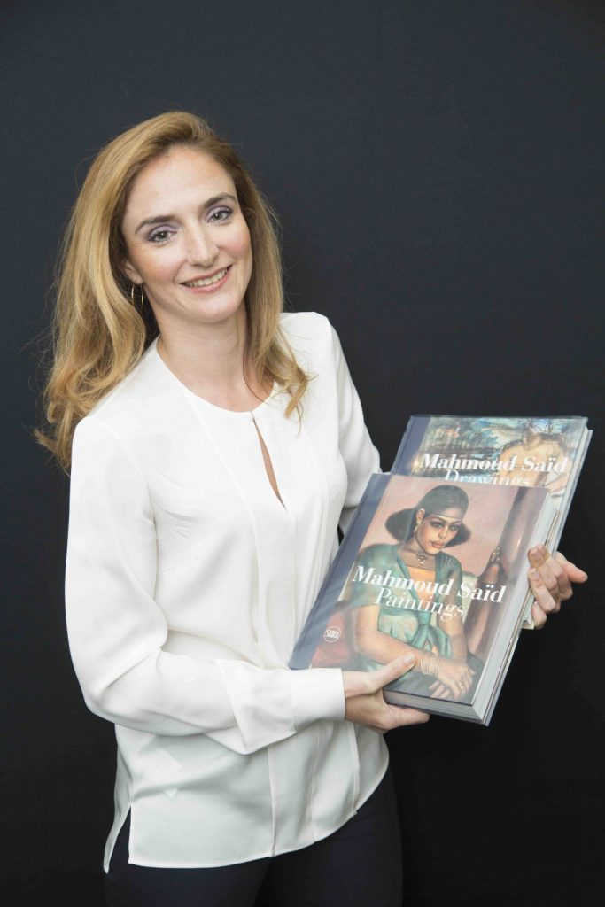 Valerie Didier Hess, business director for Christie's Middle East, decided to write Mahmoud Saïd Catalogue Raisonné in 2010.