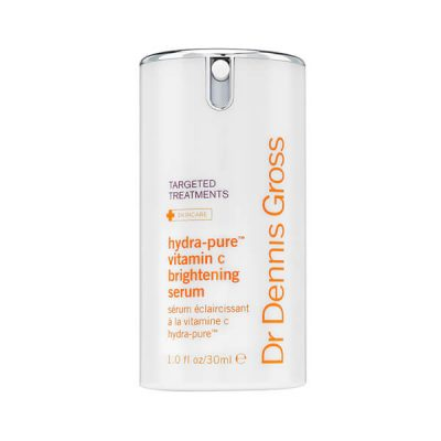 Dr. Dennis Gross Skincare Hydra-Pure Vitamin C Brightening Serum: This paraben-free serum delivers vitamin C to the skin, fighting sun damage, increasing luminosity, and supporting natural collagen for a visibly firmer, more youthful appearance.