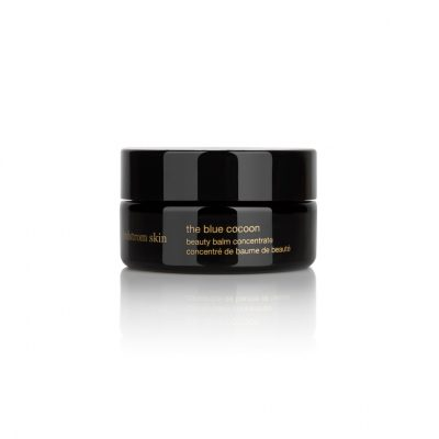 The Beauty Balm: May Lindstrom, The Blue Cocoon Beauty Balm  Best For: Intense soothing for sensitive skin  A former model-turned-skincare chef, May Lindstrom began formulating beauty recipes in her kitchen. Her eponymous range contains organic, biodynamic and vegan ingredients. Ideal for stressed out and tired skin that needs a little additional nourishment, this soothing balm offers intense relief from irritation. Blue tansy's anti-inflammatory properties help to ease the sting from flare-ups.