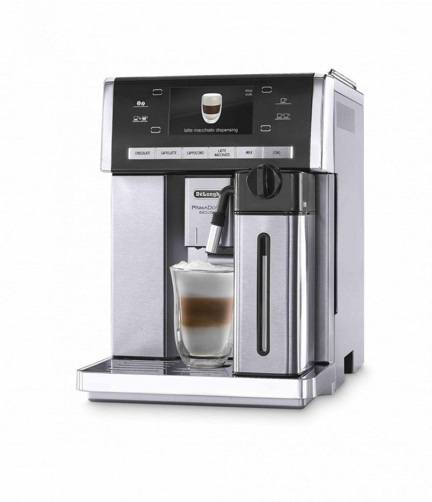 The De'Longhi's Prima Donna Exclusive coffee machine offers authentic and great tasting coffee