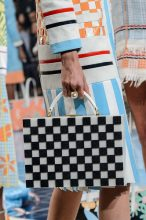 Prints needn't be overbearingly colourful, choose checkerboard details in monochrome, such as this offering from Thom Browne to mute a busy palette.