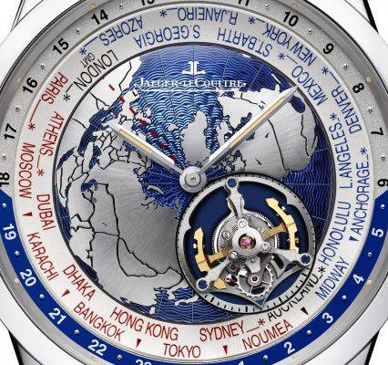 Close-up. Geophysic Tourbillon Universal Time,  Jaeger Lecoultre