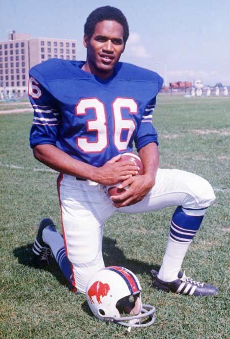 Orenthal James 'O.J.' Simpson, nicknamed The Juice, is a former American football running back