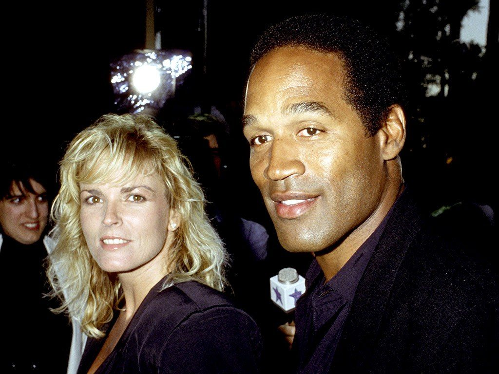 Nicole Brown Simpson (left) was the ex-wife of Simpson (right) and the mother of their two children