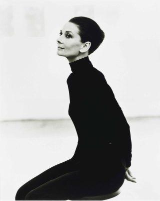 Audrey Hepburn, photographed by Steven Meisel for Vanity Fair in 1991.