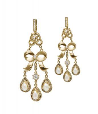 Azza Fahmy, Bow Earrings
