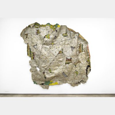 El Anatsui, Another Place, 2014.