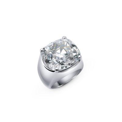 Grand Cosmos: Ring, 110.90-carat diamond and 18-karat white gold.