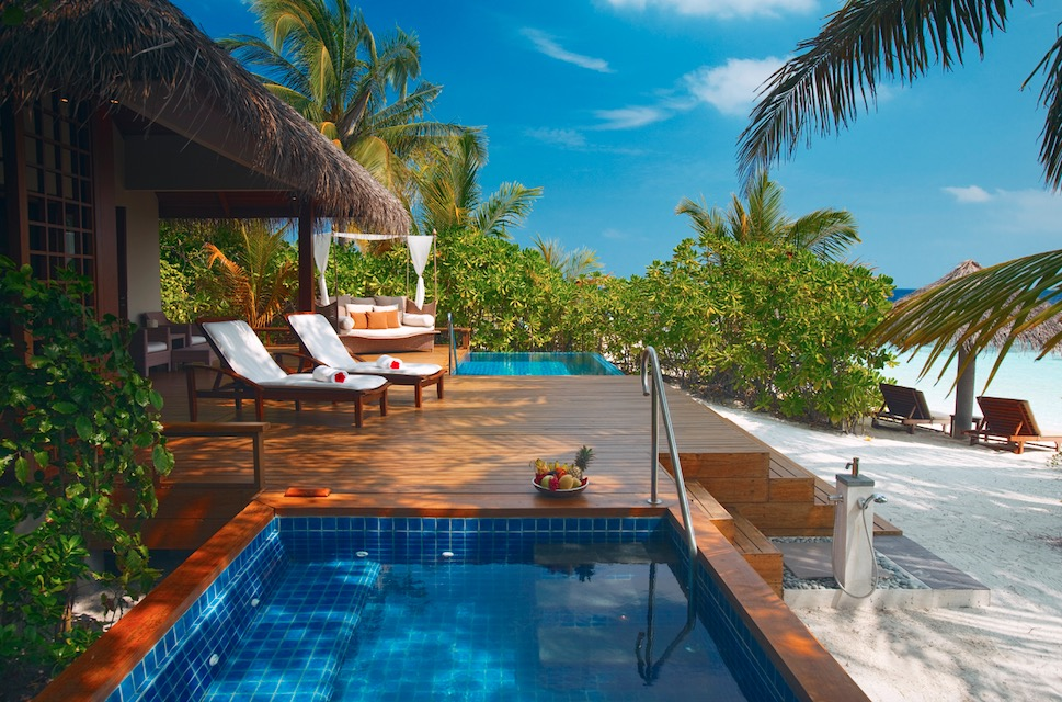 Nestled in the Indian Ocean, Baros's pristine blue waters are perfect for experienced and aspiring divers