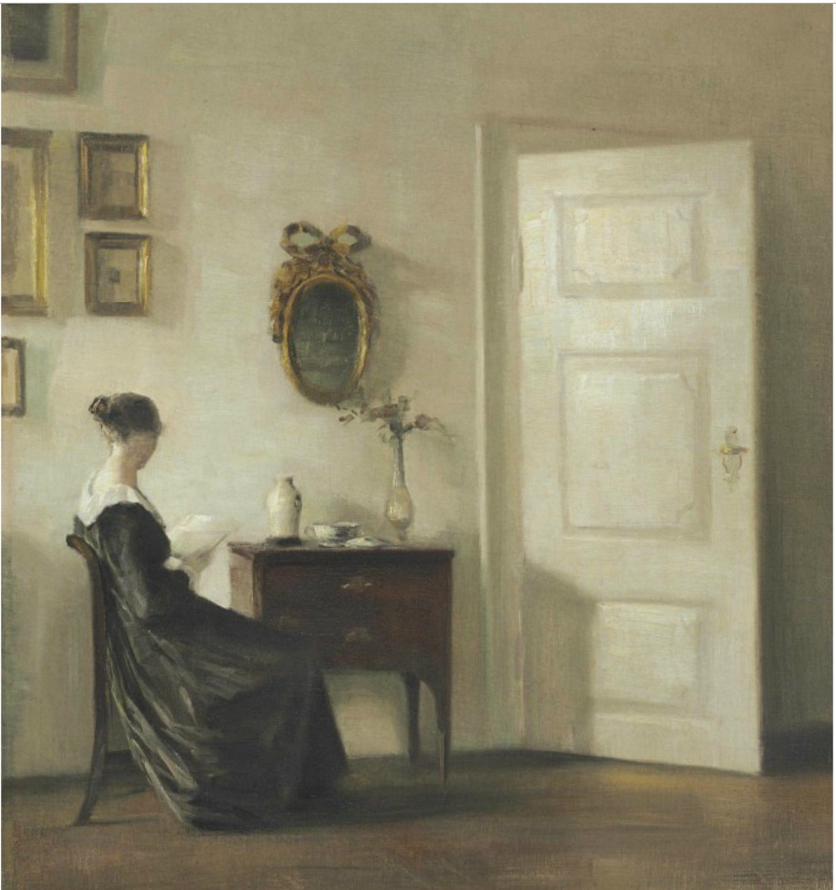 This painting by Danish artist Carl Holsøe was stolen along with seven other artworks in Sweden during December 2000.