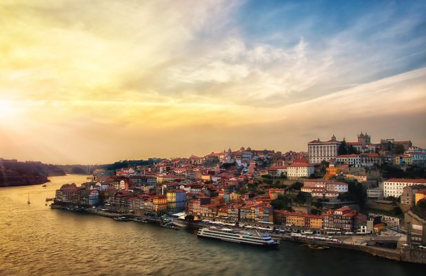 When visiting Porto, be sure to have lunch at Casa de Cha da Boa Nova.