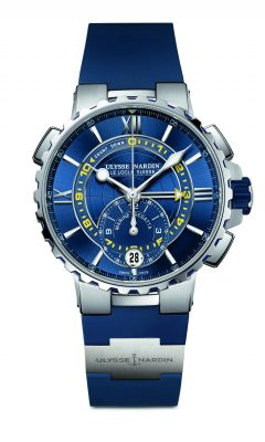 Ulysse Nardin Marine Regatta: If you're looking for a style that is a little more 'Jane Bond', look to Ulysse Nardin's stainless steel Marine Regatta as your first choice. Crafted in stainless steel, set with an anti-reflective sapphire crystal, and a water resistance of up to 100-metres this majestic piece also contains a three day power reserve and countdown timer that can be set from one to 10 minutes.