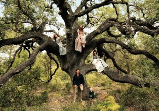 The tree of life: Duncan, Lisca, June, Phoenix, and Pixie Stutterheim from Amsterdam. © Duy Vo