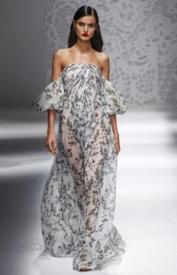 Blumarine: Soft pastel shades, pretty floral prints and the sheerest of fabrics set the tone at Blumarine where it was all about uncomplicated and uninhibited summer dressing.
