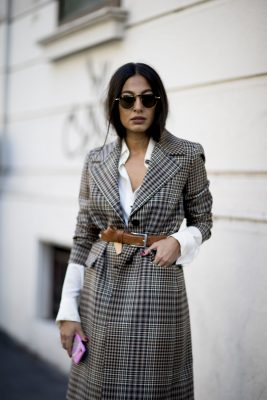 Heritage tweed remains a key fabric with designers such as Calvin Klein, Alexander Wang and Fendi, all experimenting with the ultra-traditional medium in their new collections.