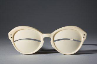 Andre Courrèges sunglasses, 1964.