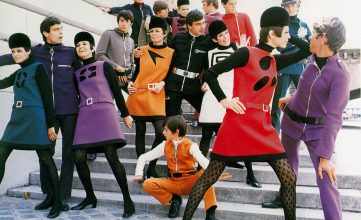 Pierre Cardin, Cosmocorps collection, 1967.