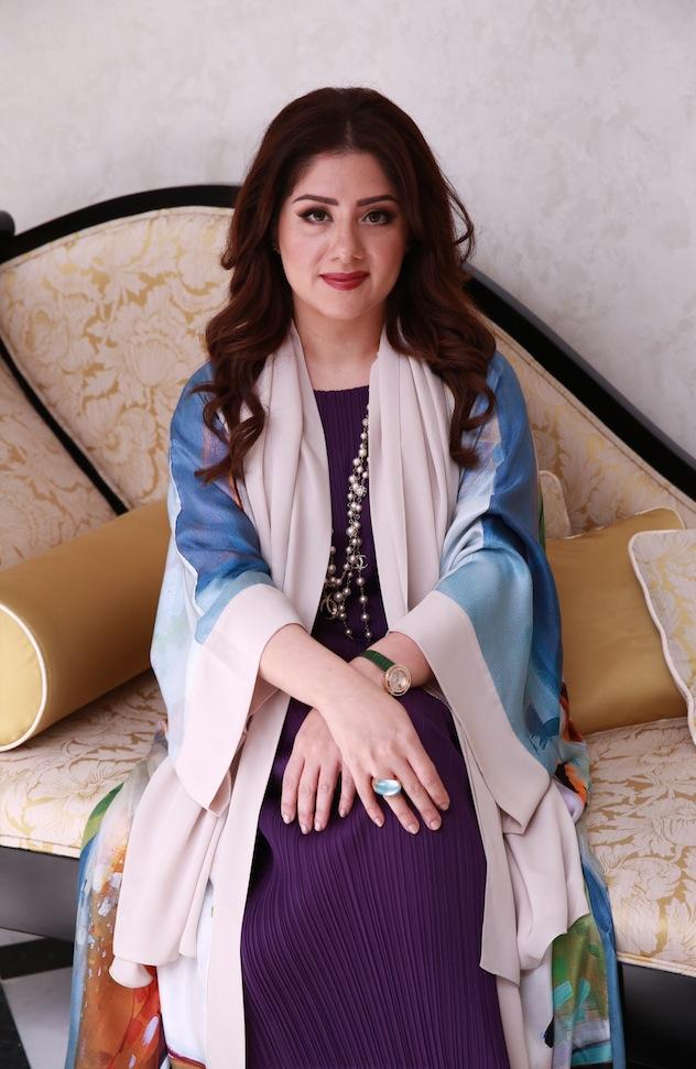 Fatima Al Shirawi photographed by Julia at The Factory