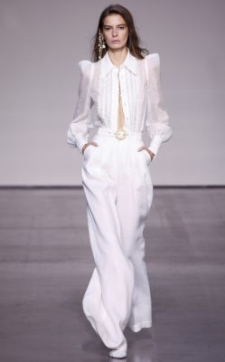 Zimmermann: Nicky Zimmermann went back to her roots for spring/summer18, taking inspiration from Australia's Gold Coast in the Sixties and Seventies resulting in light and romantic clothes with just a hint of hippie.