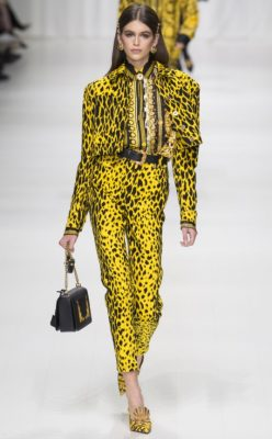 Versace: Donatella Versace chose to mark the 20th anniversary of her brother's death by drawing from his greatest hits. It was a bold and fitting tribute to Gianni Versace that felt surprisingly relevant for the women of today.