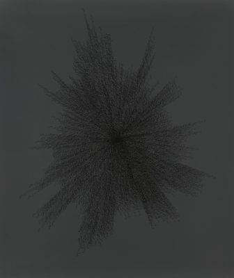 Idris Khan, This Thing, oil based relief ink on acid free paper.