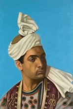 Tamara de Lempicka, Indien à Turban (Indian with Turban), 1939.