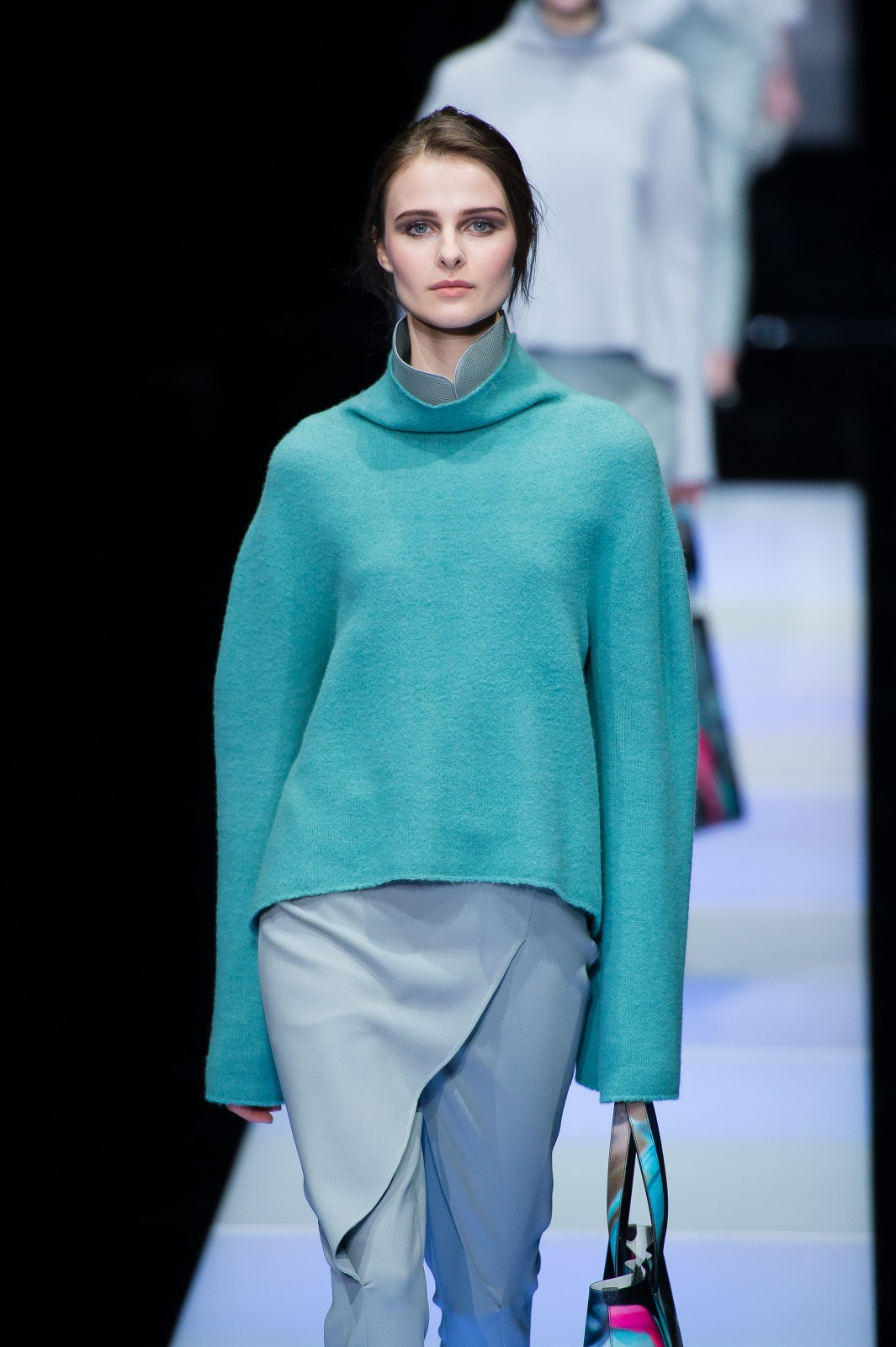Armani Wraps Up Milan With a Troop of Trousers