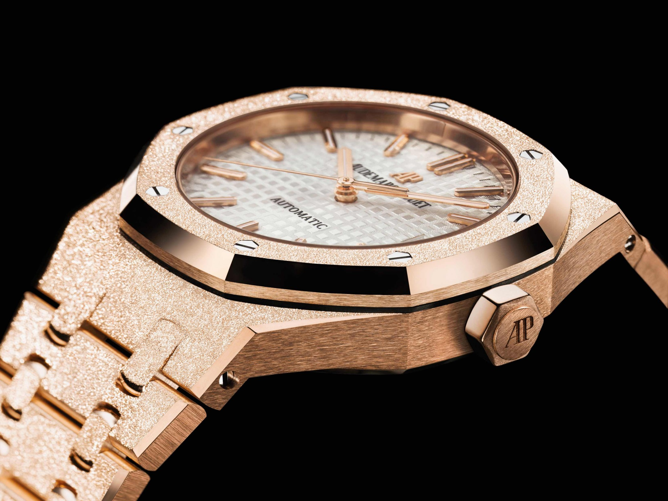 Audemars Piguet Launches The Royal Oak Frosted Gold