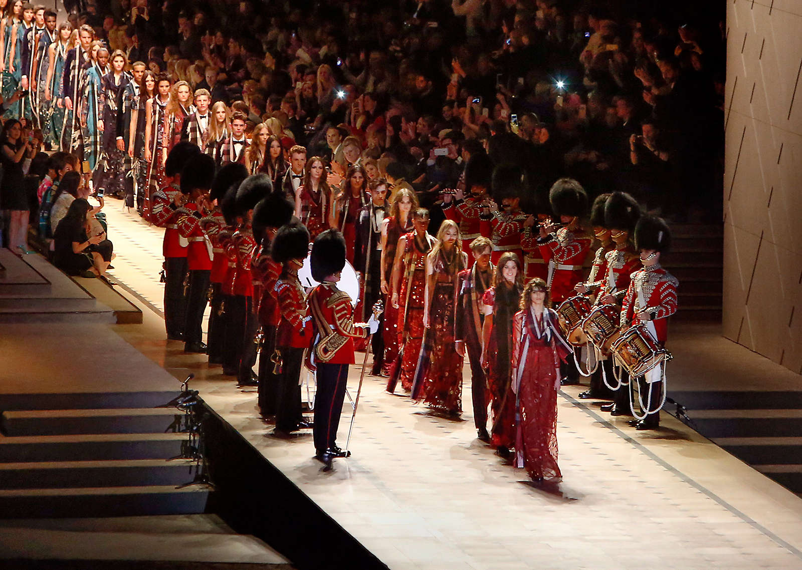 Burberry Brings London to Los Angeles