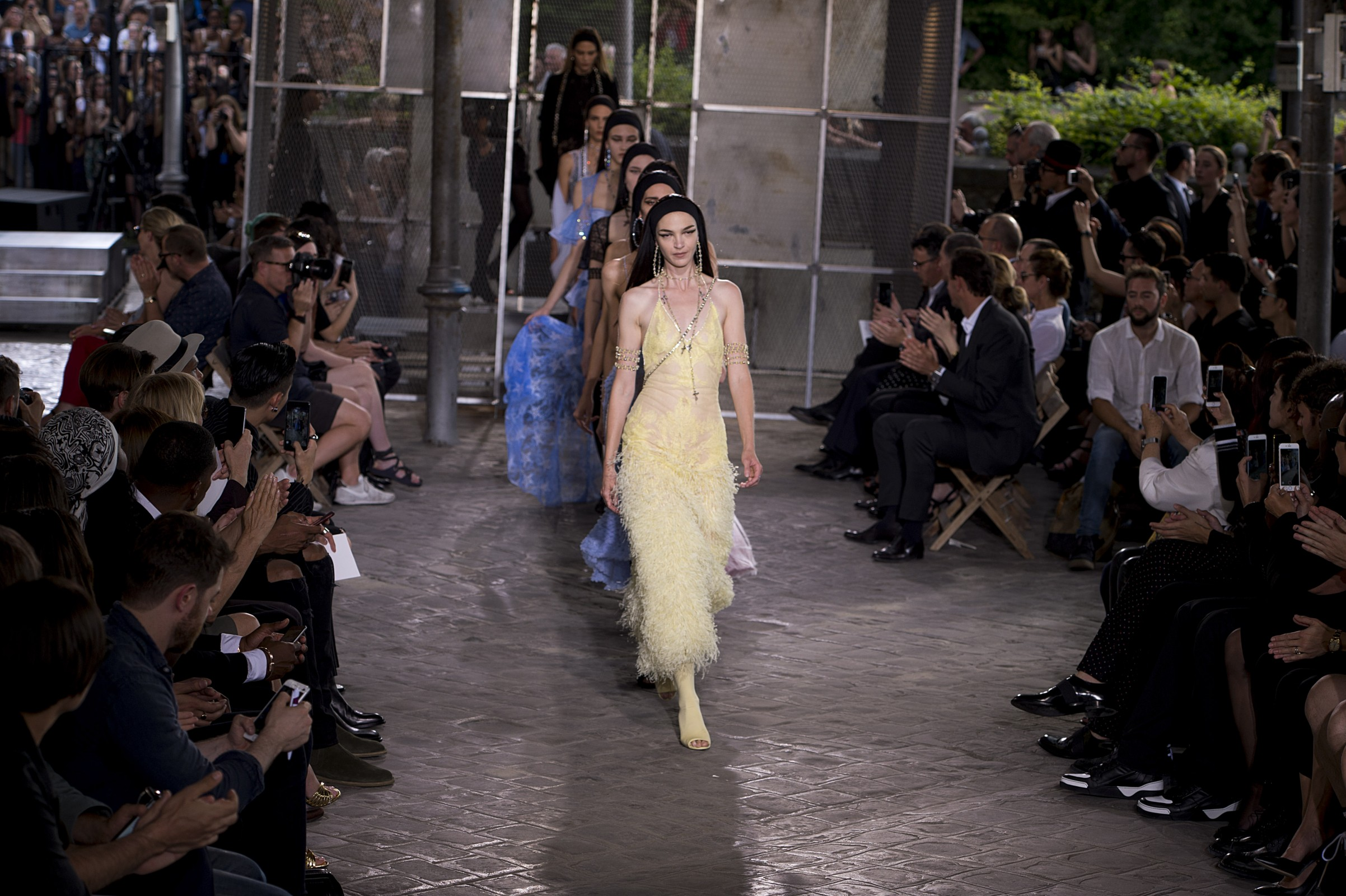Givenchy Kicks Off Couture Week