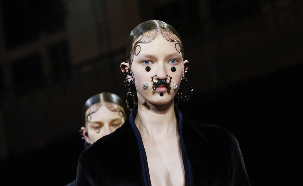 Givenchy's Gothic Sentiment