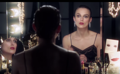 Keira Knightley Gets Into Character For Chanel