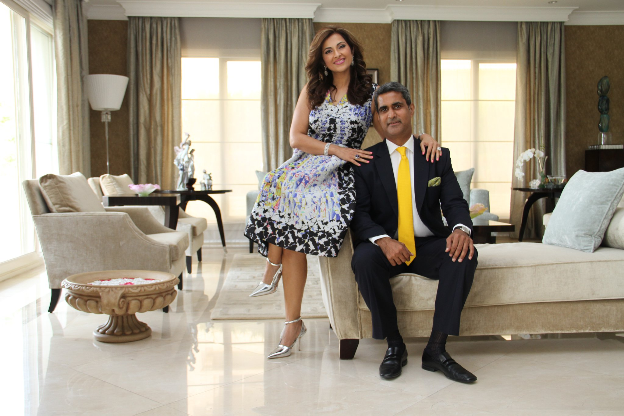 My Stylish Life: Raju and Simran Shroff