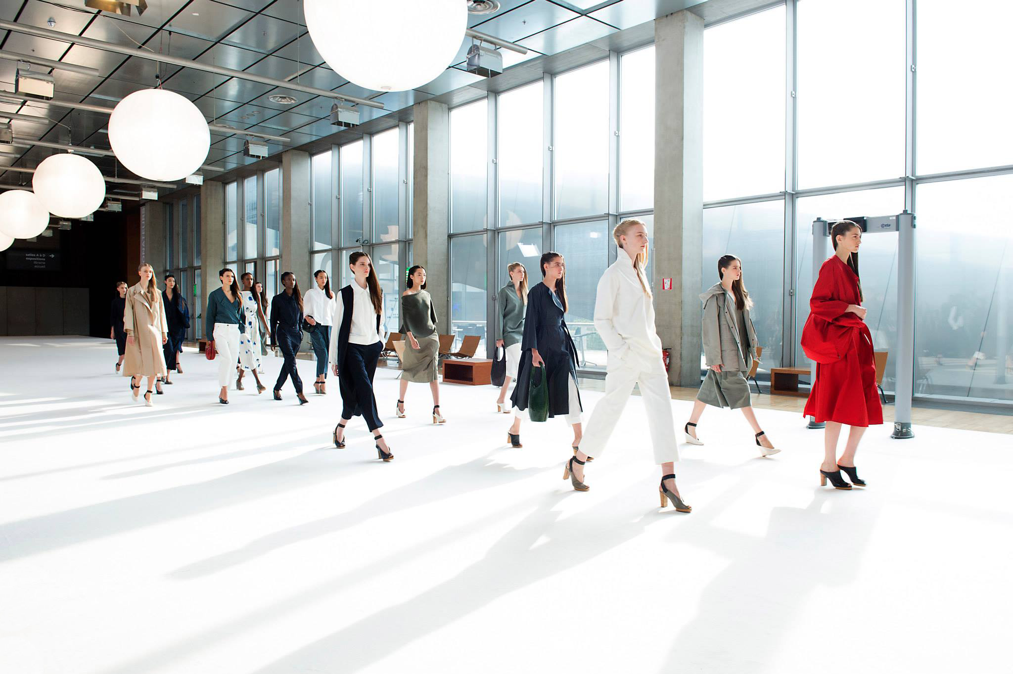 PFW: Lemaire's Liaison with Uniqlo