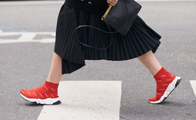 Weekend Wardrobes: The Luxe Sneaker