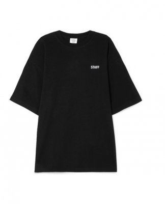 Pair your blazer or jacket with a plain black tee if you want to achieve casual-chic. This Vetements printed cotton-jersey number has been spotted on Gigi, as well as Kendall Jenner and Rihanna.