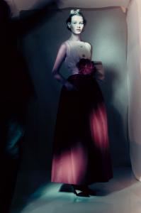 Monaco Dress Spring-Summer 1959 Haute Couture collection Longue line by Yves Saint Laurent - Model Sofia Mechetner © Paolo Roversi
