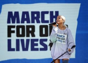 celebrities march for our lives