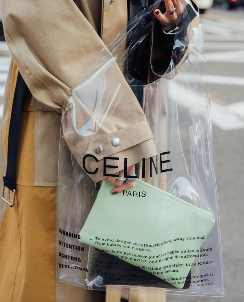 The Clear Bag Trend Is Spring's Only Accessory To Carry