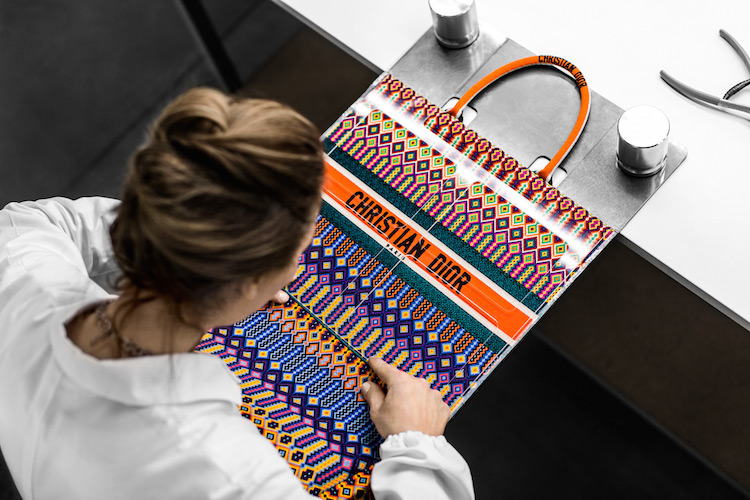 c2390567c Watch Now: The Dior Book Tote Come to Life | MOJEH