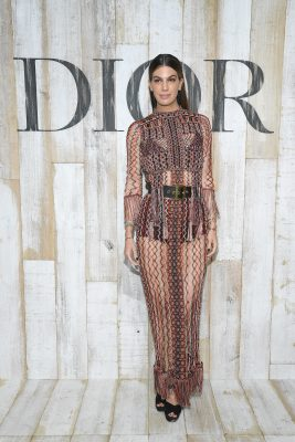 Celebrities Front Row At Dior Cruise 2019 Mojeh