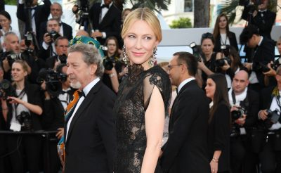 Cate Blanchett Recycles Armani Privé Dress