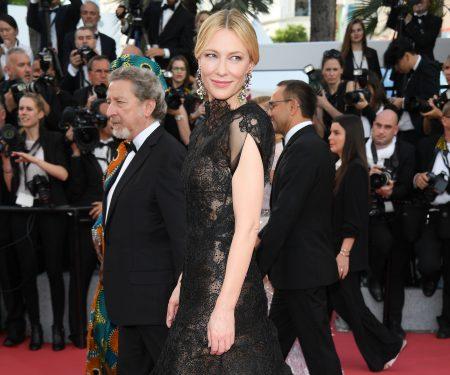 Cate Blanchett Recycles Armani Privé Dress