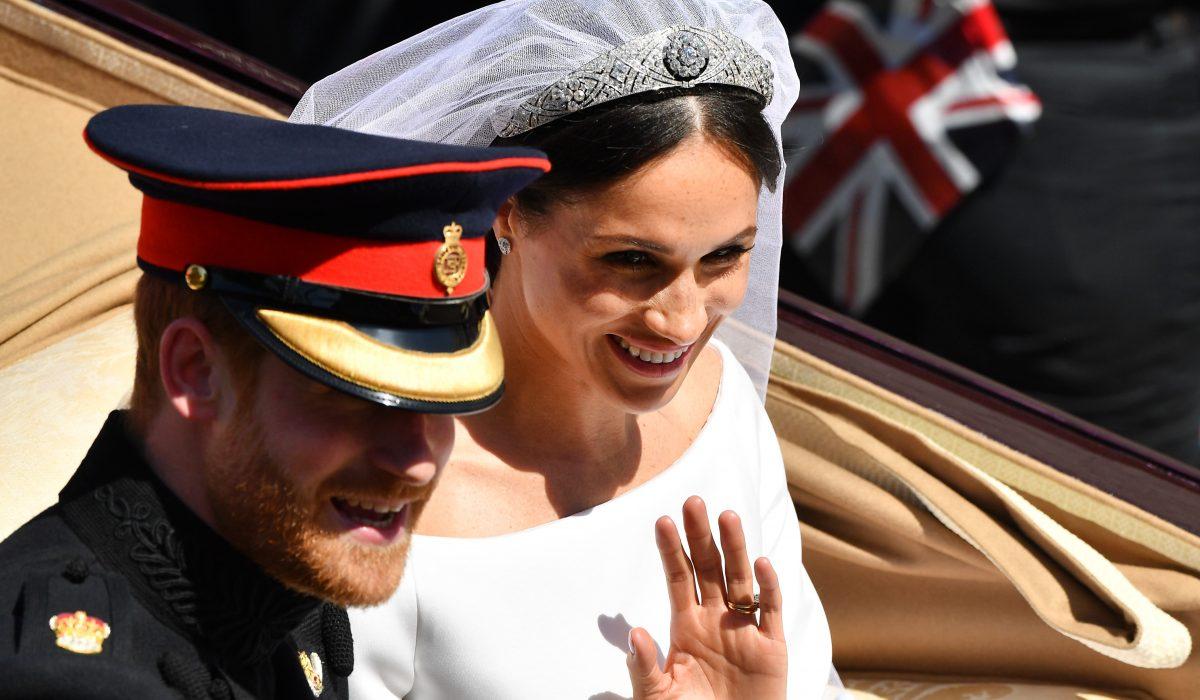Meghan Markle Wears Queen Mary's Tiara