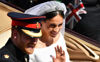 Meghan Markle Wears Queen Mary's Tiara