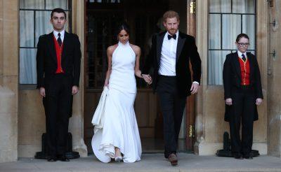 Meghan Markle Wears Stella McCartney for Wedding Reception