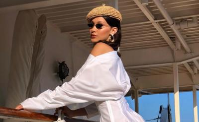 Bella Hadid Monaco Grand Prix