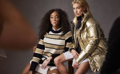 Hailey Baldwin and Winnie Harlow